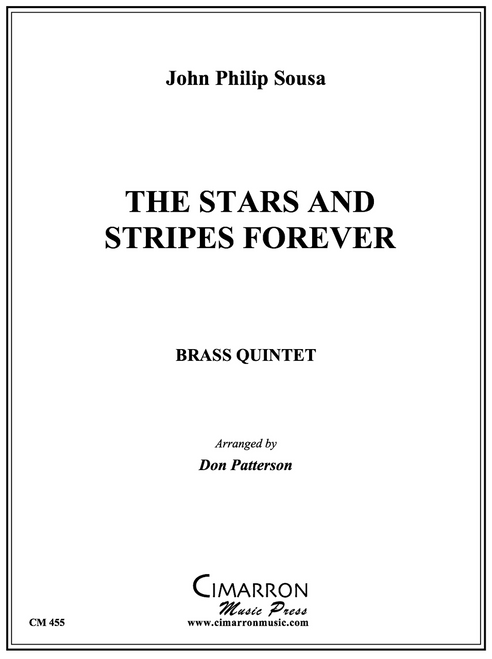 The Stars and Stripes Forever Brass Quintet (Sousa/Patterson) PDF Download