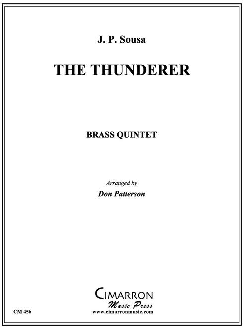 The Thunderer Brass Quintet (Sousa/Patterson) PDF Download