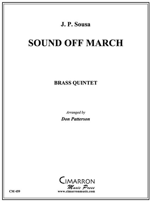 Sound Off March Brass Quintet (Sousa/Patterson) PDF Download