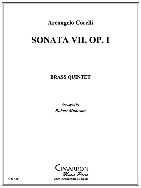 Sonata VII, Op. 1 Brass Quintet (Corelli/arr. Madeson)