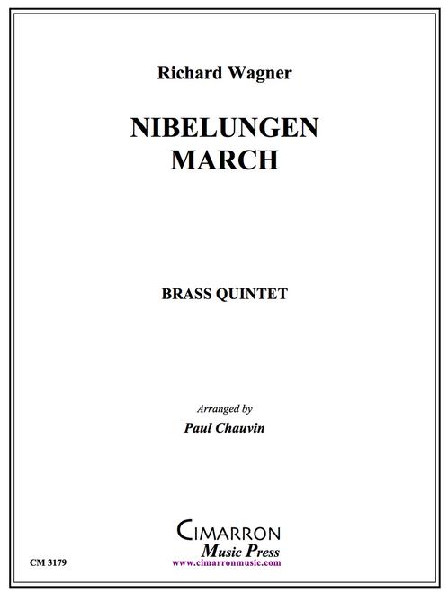 Niebelungen March Brass Quintet (Wagner/Chauvin) PDF Download