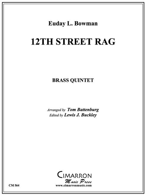 12th Street Rag Brass Quintet (Bowman/Battenburg) PDF Download