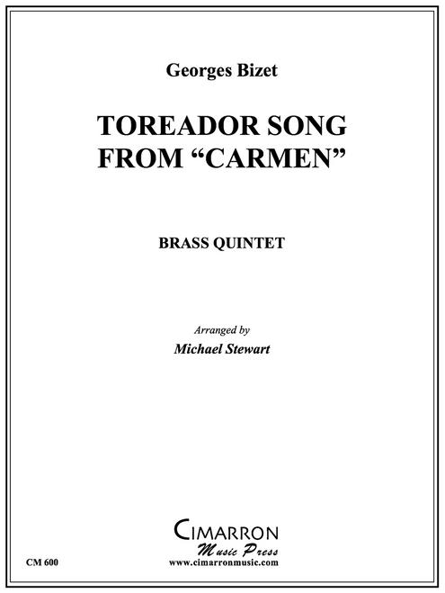 """Toreador Song from """"Carmen"""" for Brass Quintet (Bizet/Stewart)"""