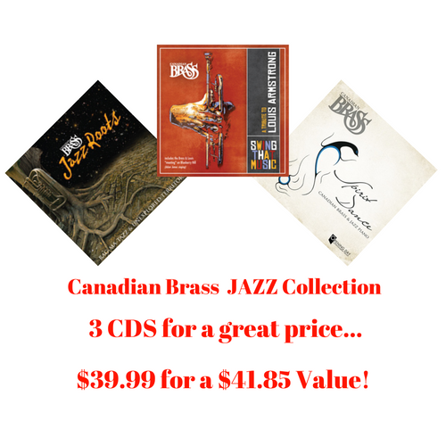 Canadian Brass Jazz CD Collection (3 CDs)