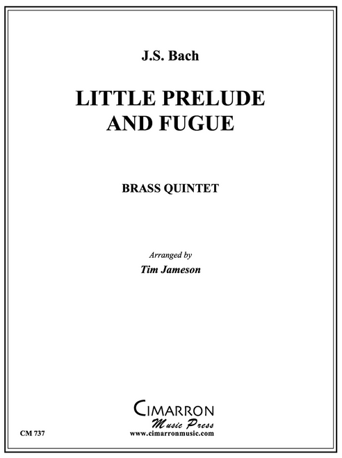 Little Prelude and Fugue in G Brass Quintet (Bach/arr. Jameson)