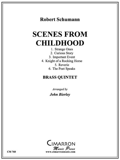 Scenes from Childhood brass quintet (Robert Schumann/Bierley)