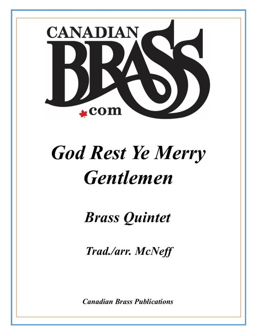 God Rest Ye Merry Gentlemen Brass Quintet (Trad./McNeff) PDF Download