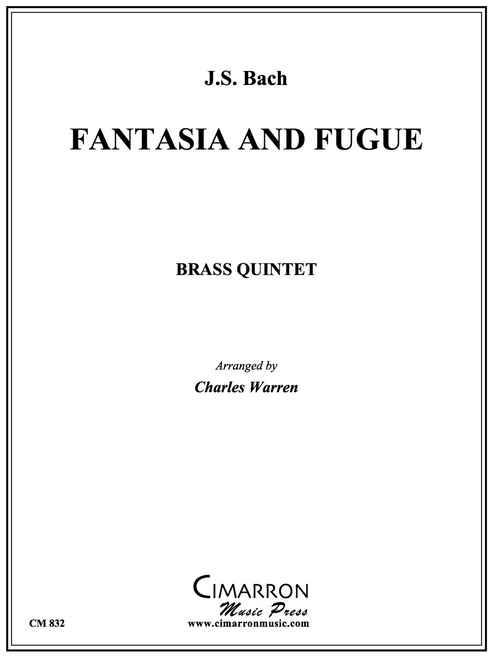 Fantasia and Fugue Brass Quintet (Bach/arr. Warren) PDF Download