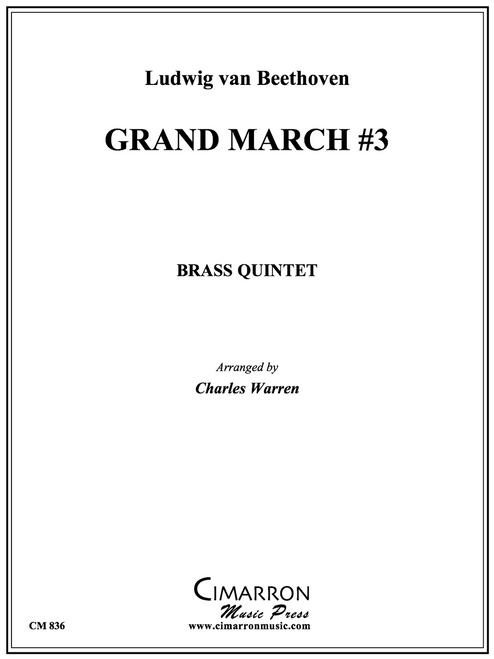 Grand March #3 Brass Quintet (Beethoven/arr. Warren) PDF Download