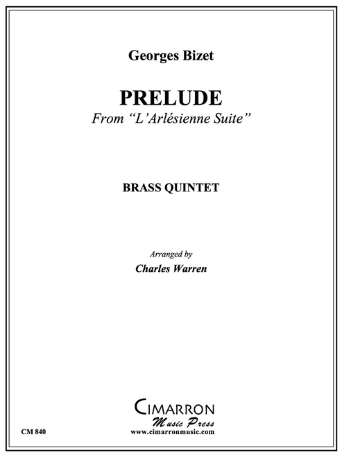 "Prelude from""L'Arlesienne Suite"" Brass Quintet (Bizet/arr. Warren) PDF Download"