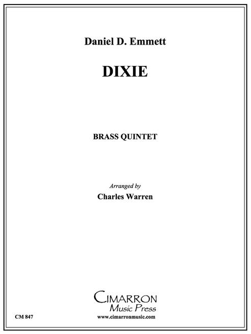 Dixie for Brass Quintet (Emmett/ arr. Warren) PDF Download