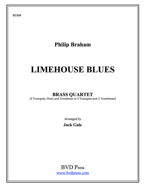 Limehouse Blues Brass Quartet (Braham/Gale) PDF Download