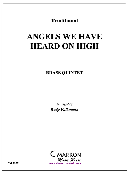 Angels We Have Heard On High Brass Quintet (Trad./arr. Volkmann)
