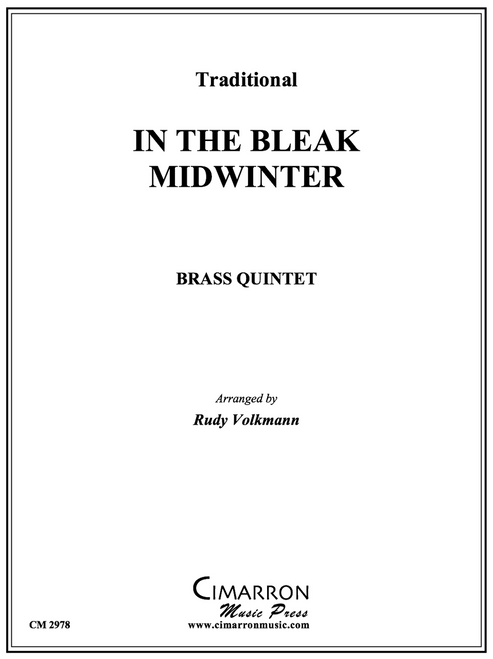 In the Bleak Midwinter Brass Quintet (Trad./ arr. Volkmann)