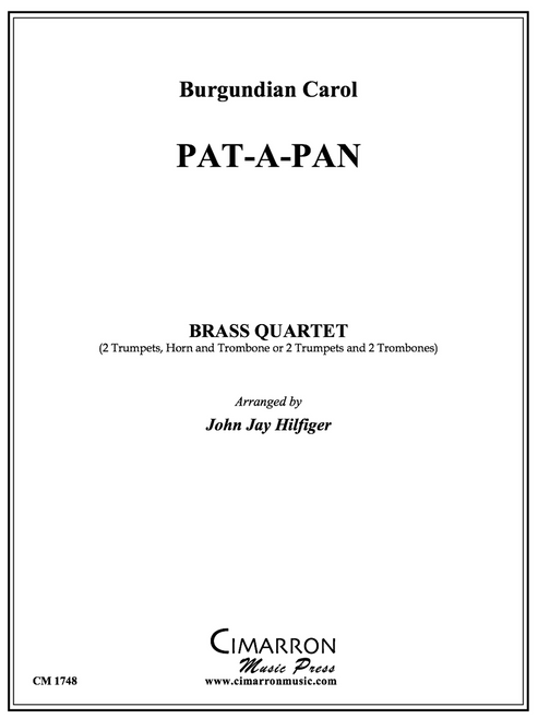 Pat-A-Pan Brass Quartet (Trad./arr. Hilfiger) PDF Download