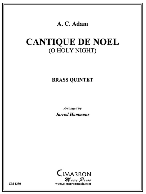 Cantique de Noel Brass Quintet (Adam/arr. Hammons) PDF Download