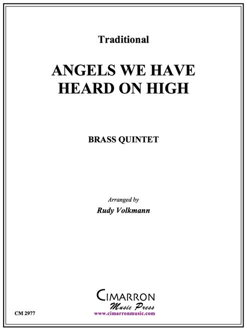Angels We Have Heard On High Brass Quintet (Trad./Volkmann) PDF Download
