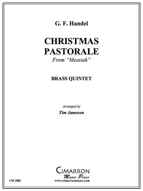 "Christmas Pastorale from ""Messiah"" Brass Quintet (Handel/arr. Jameson) PDF Download"