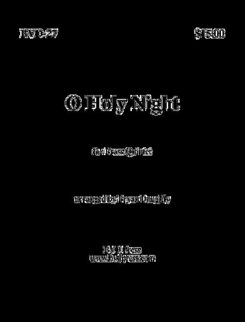 O Holy Night Brass Quintet (Adam/arr. Doughty) PDF Download