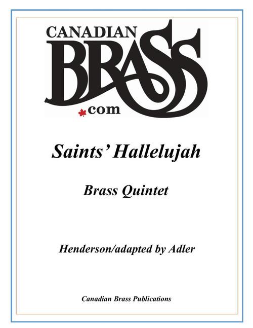 Saints' Hallelujah Brass Quintet (Henderson/Adler) PDF Download