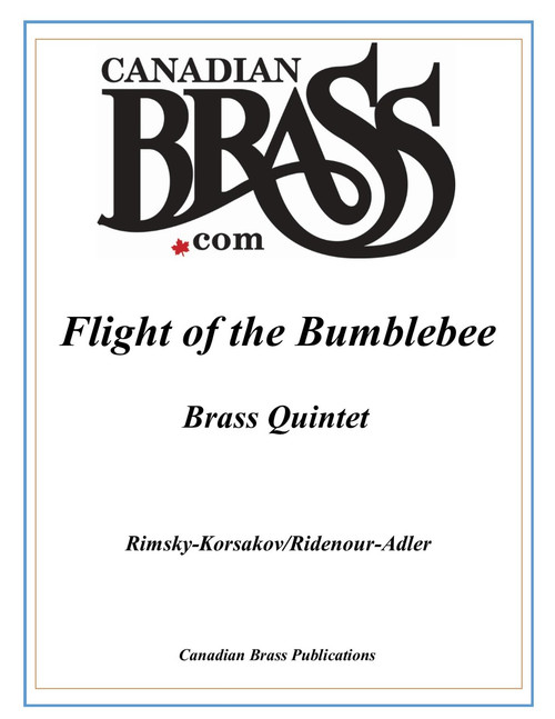 Flight of the Bumblebee Brass Quintet (Rimsky-Korsakov/Ridenour adapted by Adler) PDF Download