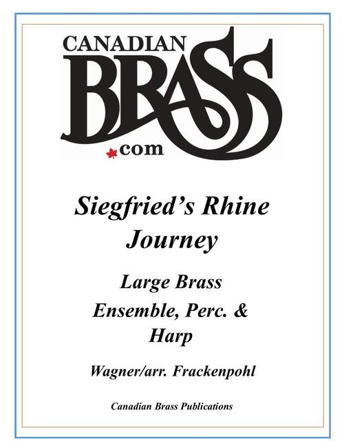 Siegfried's Rhine Journey for Large Brass Ensemble, Perc. and Harp (Wagner/arr. Frackenpohl)