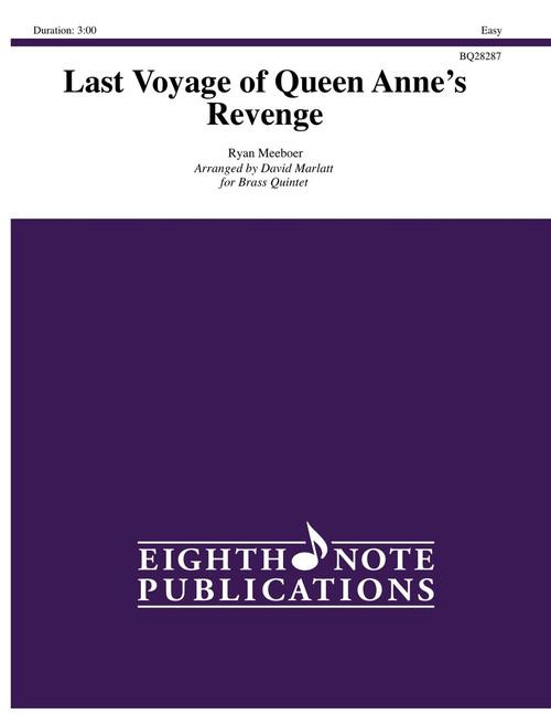 Last Voyage of Queen Anne's Revenge Brass Quintet (Meeboer/arr. David Marlatt)