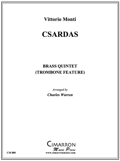 Csardas for Brass Quintet (Monti/arr. Warren)