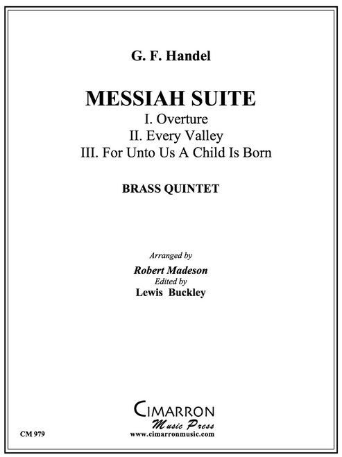 Messiah Suite for Brass Quintet (Handel/arr. Madeson)