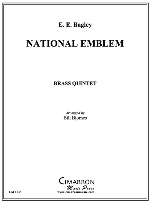 National Emblem for Brass Quintet (Bagley/arr. Bjornes)