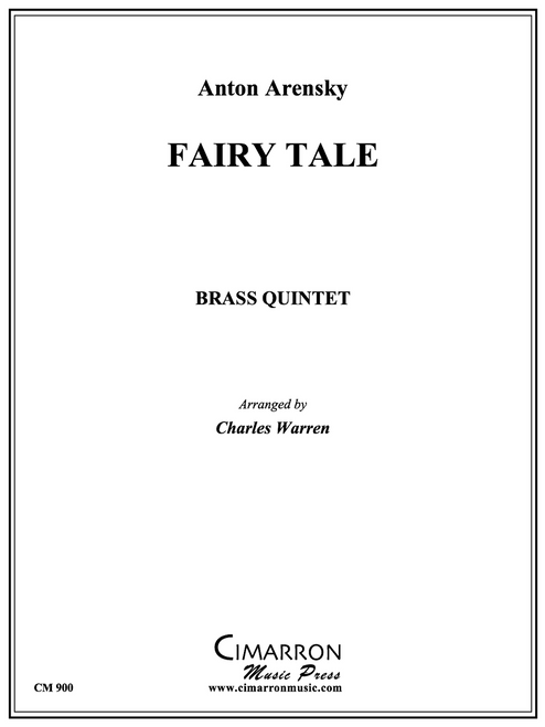 Fairy Tale Brass Quintet (Arensky/arr. Warren) PDF Download
