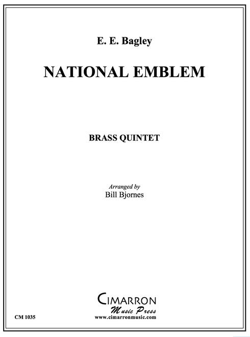National Emblem for Brass Quintet (Bagley/arr. Bjornes) PDF Download