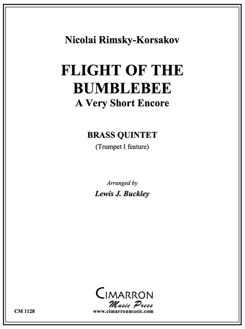 Flight of the Bumblebee Brass Quintet (Rimsky-Korsakov/arr. Buckley PDF Download