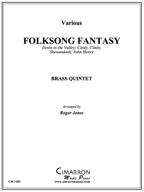 Folksong Fantasy for Brass Quintet (Trad./arr. Jones) PDF Download