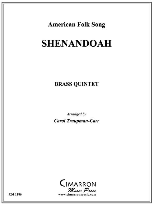 Shenandoah for Brass Quintet (Trad./arr. Traupman-Carr) PDF Download