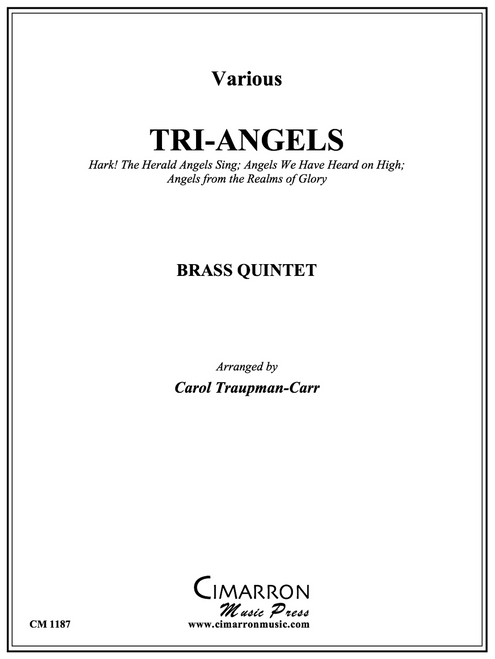 Tri-Angels for Brass Quintet (Various/arr. Traupman-Carr) PDF Download