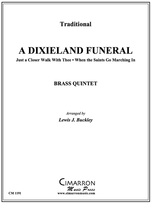 A Dixieland Funeral for Brass Quintet (Trad./arr. Buckley) PDF Download