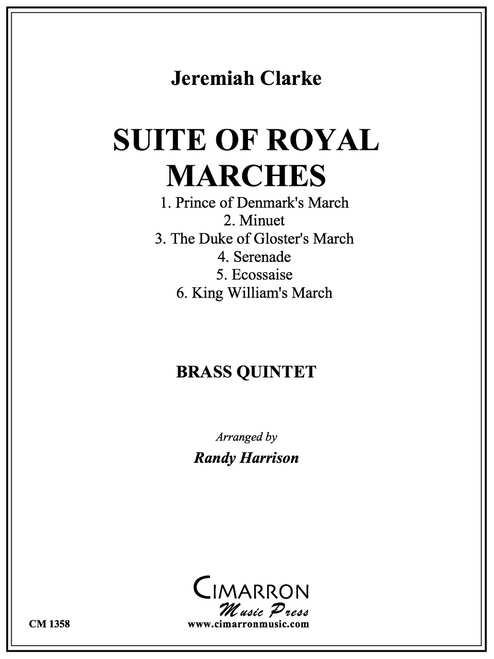 Suite of Royal Marches for Brass Quintet (Clarke/arr. Harrison) PDF Download