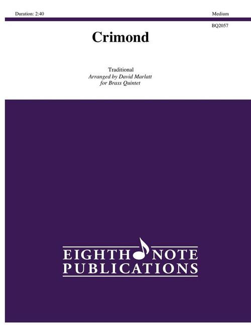 Crimond for Brass Quintet (Trad./arr. Marlatt)