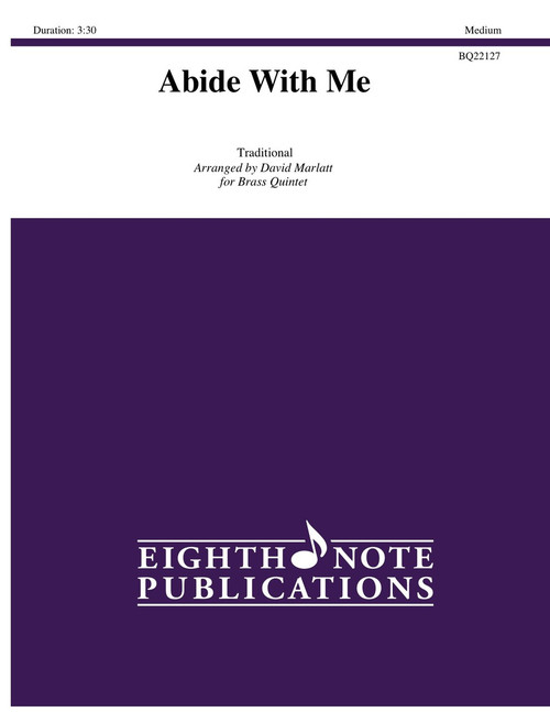 Abide With Me Brass Quintet (Trad./arr. Marlatt)