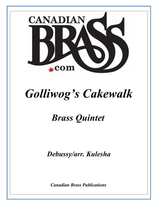 Golliwog's Cakewalk Brass Quintet (Debussy/arr. Kulesha) PDF Download