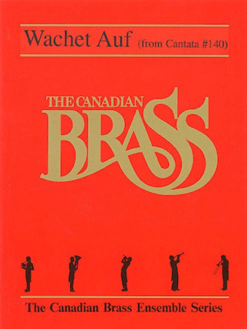 Wachet Auf Brass Quintet w/Optional Organ (Bach/arr. Mills)
