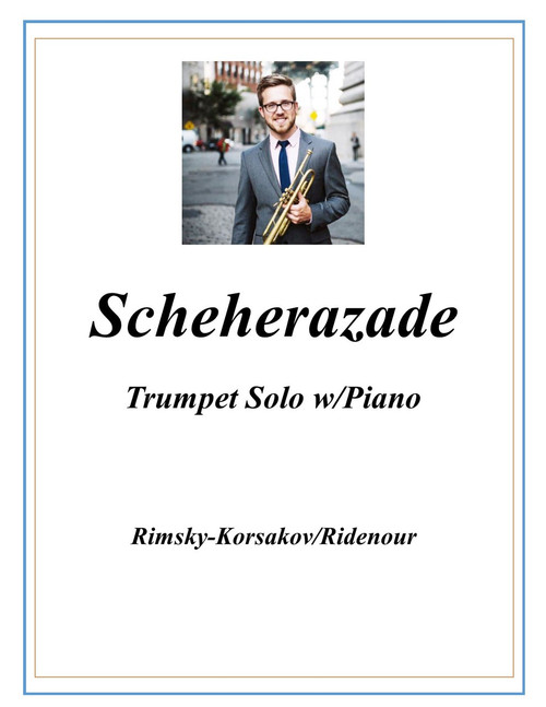Scheherazade adapted for Trumpet and Piano (Rimsky-Korsakov/Ridenour) PDF Download