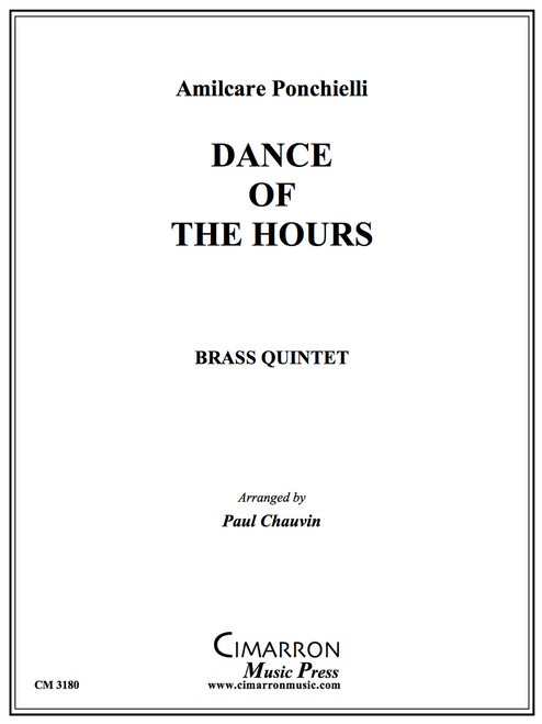 Dance of the Hours for Brass Quintet (Ponchielli/Chauvin)