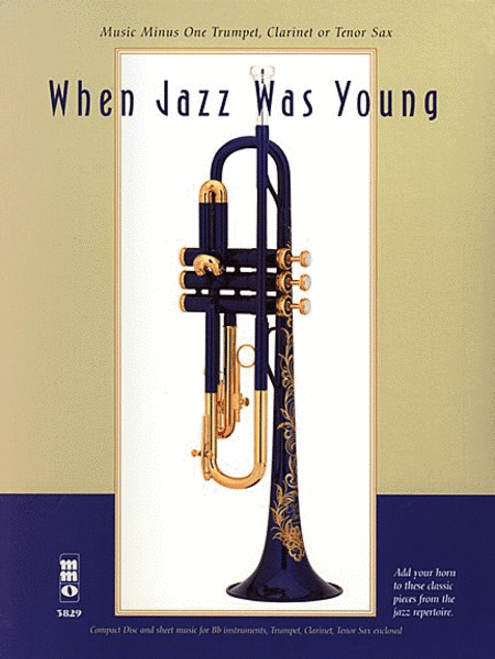 When Jazz Was Young (Music Minus One) for Trumpet Bk/CD