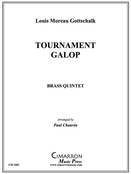 Tournament Galop Brass Quintet (Gottschalk/arr. Chauvin)