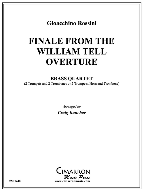 Finale from the William Tell Overture for Brass Quartet (Rossini/arr. Kaucher)