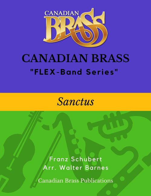 Sanctus (Schubert) - Beginning Masterpiece for FLEX-system PDF Download