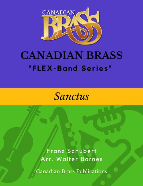 Sanctus (Schubert) - Beginning Masterpiece for FLEX-system PDF Download
