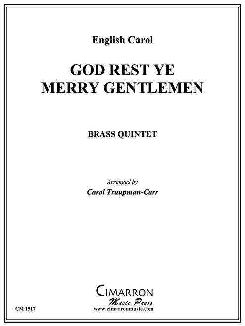 God Rest Ye Merry Gentlemen Brass Quintet (Trad./arr. Traupman-Carr)